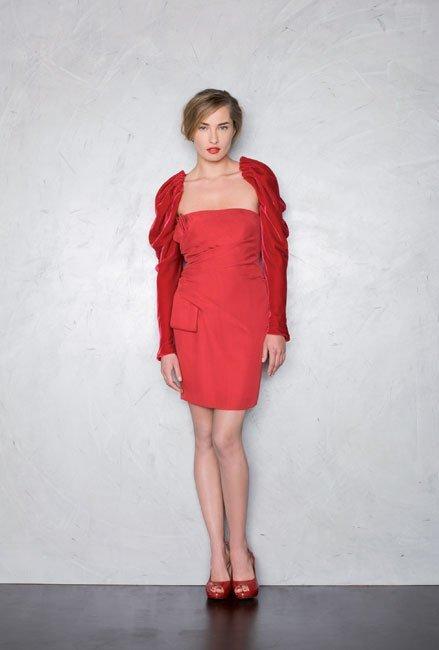 Esta Navidad luce un vestido rojo