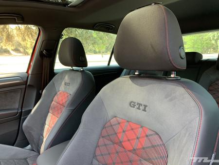 Volkswagen Golf GTI TCR asientos