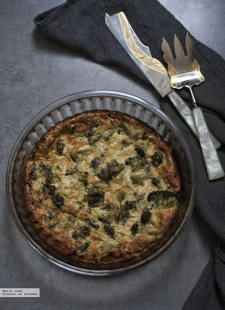 Frittata de brócoli con hierbas aromáticas. Receta de tortilla italiana con y sin Thermomix