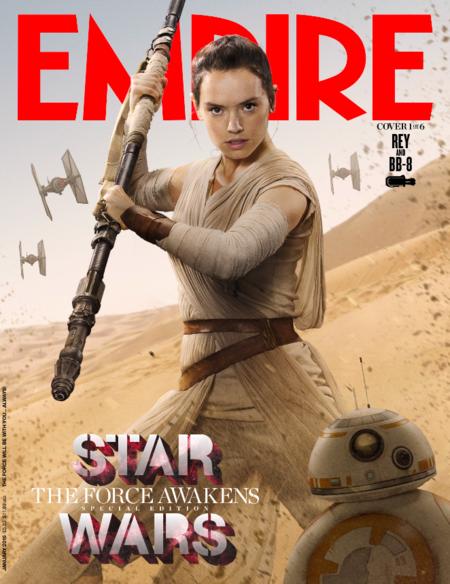 'Star Wars: El despertar de la fuerza': 6 portadas de Empire con los protagonistas