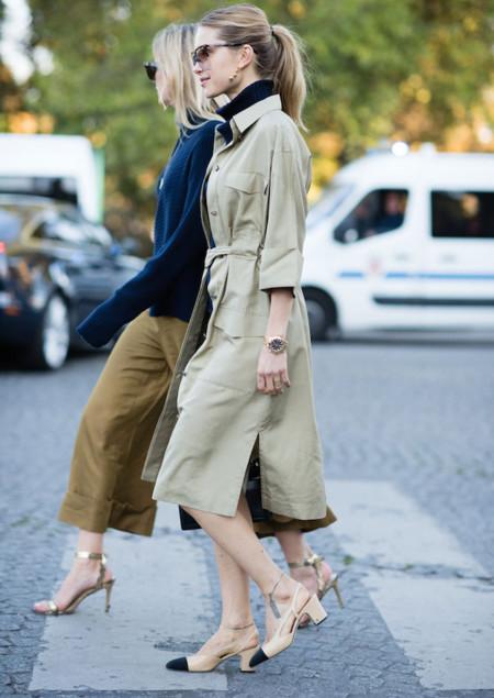 Chanel lo peta, y todo con unos zapatos de antaño reeditados