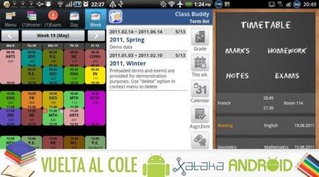 Las mejores aplicaciones Android vuelta al cole: horarios y gestores de tareas