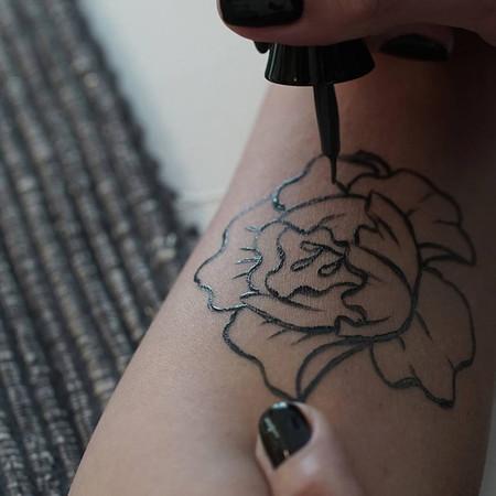 Amkiri Primer Perfume Visual Del Mundo Tatuaje Con Fragancia 3