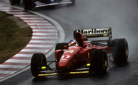 Jean Alesi GP Japón 1994