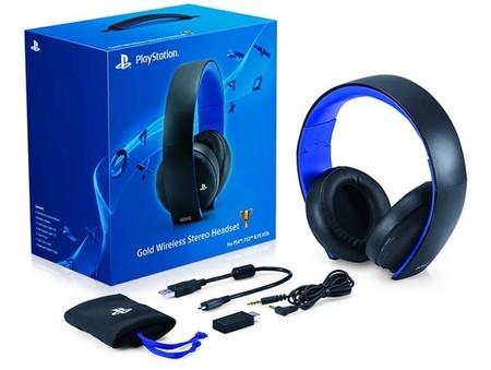 Sony anuncia el headset inalámbrico del PS4 compatible con la actualización 1.60