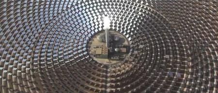 Campo fotovoltaico Andalucia