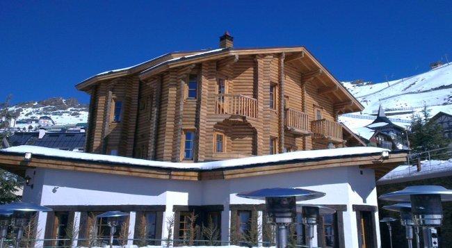 Hotel El Lodge en Sierra Nevada Vistas desde Terraza