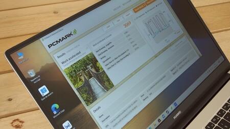 Huawei Matebook D15 2021 Review Xataka Espanol Pantalla Prueba