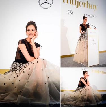 Caras guapas y confesiones en los premios 'Mujer Hoy 2016'