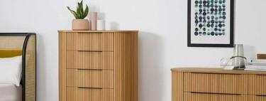 17 cómodas bonitas para poner orden (y estilo) en tu dormitorio