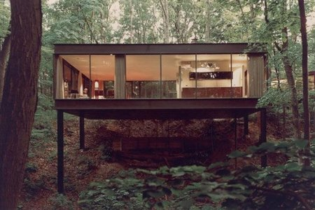 la casa de cameron en Ferris Bueller