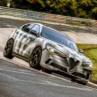 El Alfa Romeo Stelvio QV se convierte en el SUV más rápido de Nürburgring Nordschleife