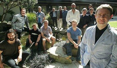 'El hobbit', imagen de los protagonistas