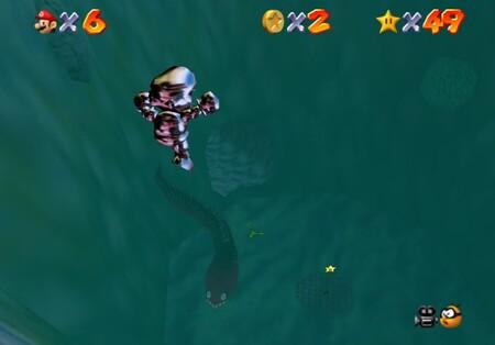 Super Mario 64: cómo conseguir la estrella Through the Jet Stream de Jolly Roger Bay