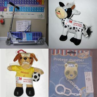 64.000 juguetes retirados en la Comunidad de Madrid en dos semanas