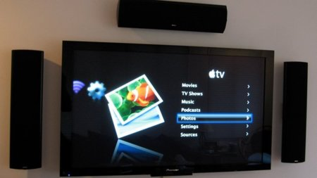 apple tv televisor home cinema