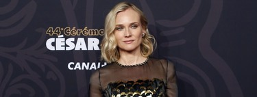 Premios César 2019: Diane Kruger homenajea a Karl Lagerfeld con este vestido de escamas