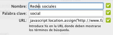 keyword search prefijo búsqueda google chrome