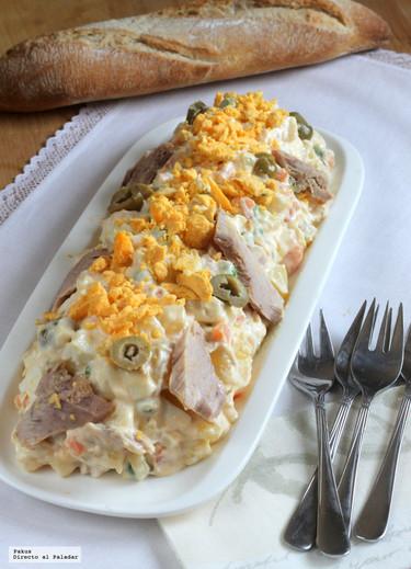 Las recetas de nuestras madres: ensaladilla rusa ligera