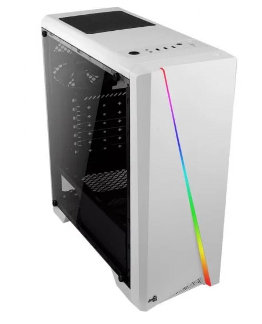 AeroCool Cylon LED USB 3.0 con Ventana Blanca