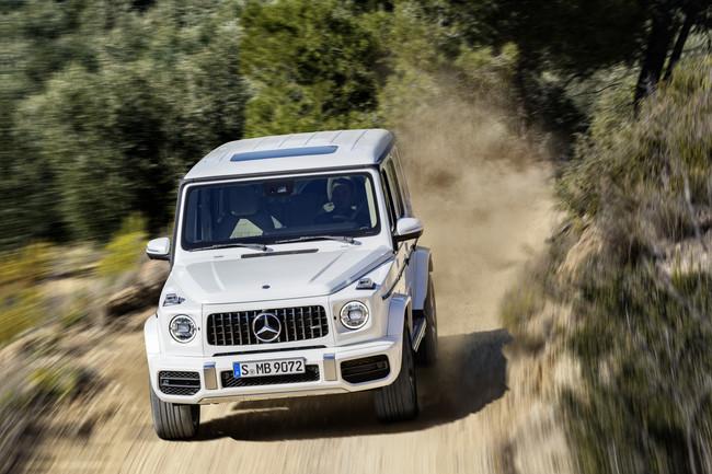 Mercedes-AMG G 63: 585 CV y 850 Nm para marcar la senda fuera del asfalto