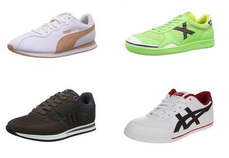 Chollos en tallas sueltas de zapatillas Munich, Asics o Mustang en Amazon por menos de 30 euros