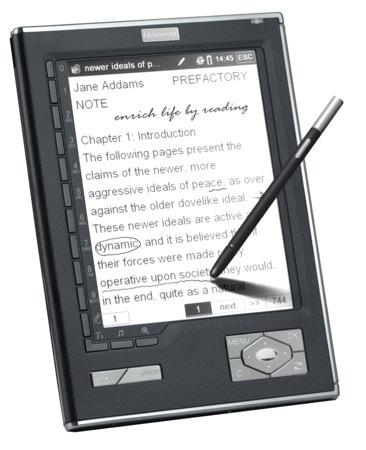 Hexaglot N518, lector de libros con reconocimiento de escritura