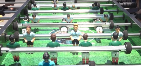 Hasta en futbolito; México vence a Alemania en récord Guiness con mayor número de personas jugando simultáneamente