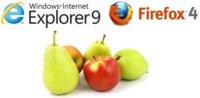 """Microsoft dice que """"comparar descargas de IE9 con Firefox 4 es comparar peras con manzanas"""""""