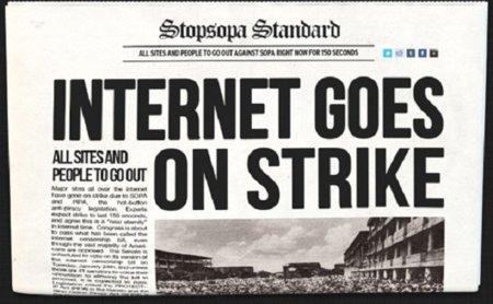 Mañana, apagón anti #SOPA