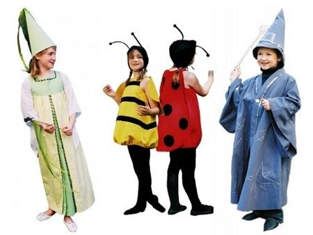 Patrones para confeccionar disfraces para niños