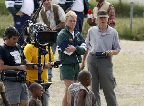 'The Human Factor' de Clint Eastwood, fotos de rodaje