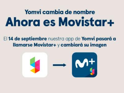 Adiós a los últimos rastros de Canal+, la marca Yomvi deja su hueco a Movistar+