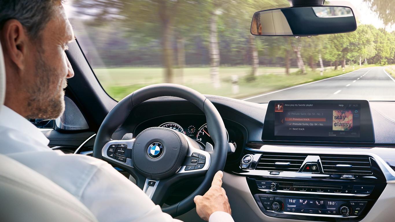 Todos los BMW y MINI contarán con Amazon Alexa a partir de mediados de 2018