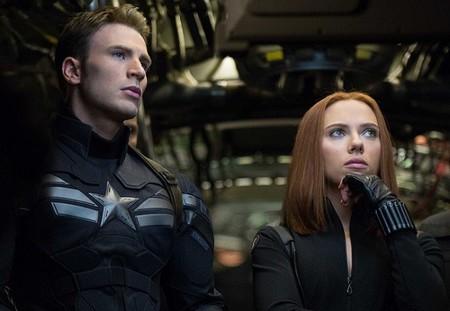 El Capitán América y la Viuda Negra