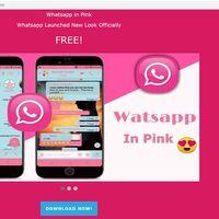 Mucho cuidado con el WhatsApp rosa o 'WhatsApp pink', es una app maliciosa que toma el control de tu teléfono