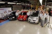 Finaliza la producción del Nissan Micra en Europa