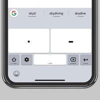 Así puedes escribir en Morse desde el iPhone con el teclado de Google