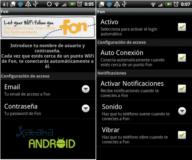 fon wifi android