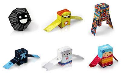 Hacer juguetes de papel