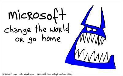 Monstruo Azul de Microsoft