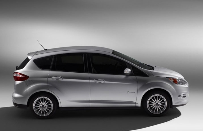 Ford C-Max Hybrid lateral