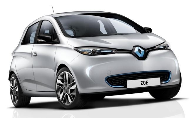 Renault ZOE 01