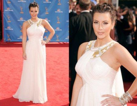 Kim Kardashian en los Emmy Awards 2010