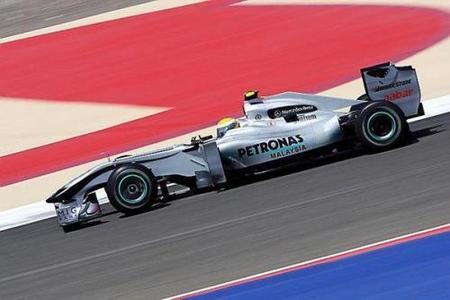 Nico Rosberg y Mercedes GP dan el primer golpe en la mesa