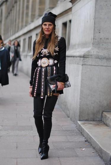 Street style en la Semana de la Moda de París