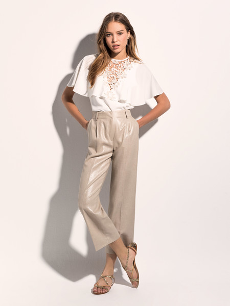 3 looks de moda para primavera verano con pantalón de lino