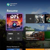 Así será el nuevo aspecto del menú home de Xbox One: adiós a las pestañas y al uso de Cortana desde la consola