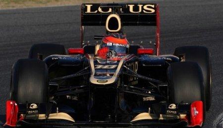 Lotus se retira de la primera semana de pruebas en Barcelona