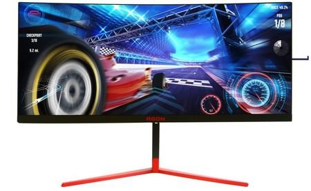 AOC prepara un nuevo monitor gaming: el AGON AG353UCG presume de panel Mini-LED, Nvidia G-Sync y un brillo de 1000 nits